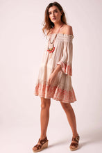 Brigitte Baby Doll Dress Nude