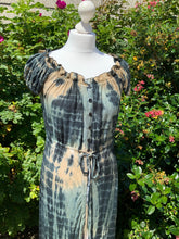 Nell - Tie Dye Dress - Indigo