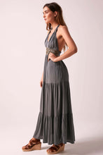 Glorious Goddess Maxi Dress - Storm Grey
