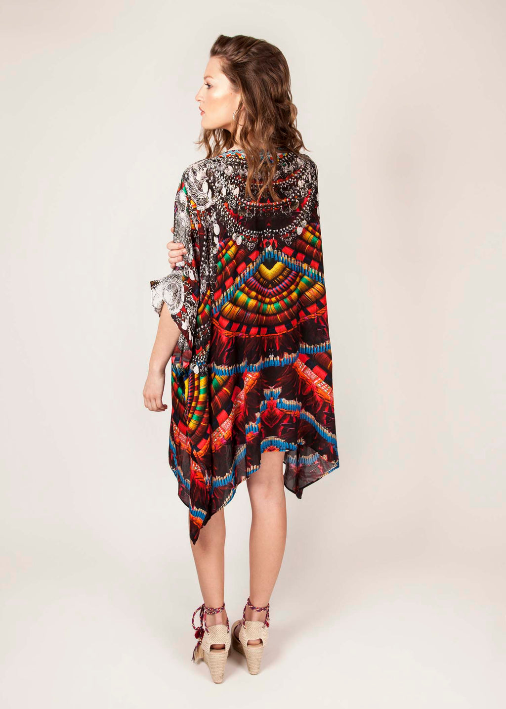 TRIBAL - Luxury Kaftan - Multi Colour