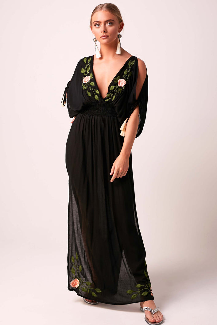 APHRODITE  Maxi Dress - Black
