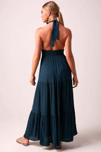 Glorious Goddess Maxi Dress  - Petrol