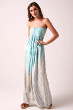 Sundown Maxi Dress Aqua