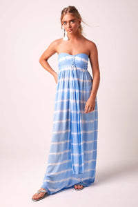 Sundown Maxi Dress - Forget-me-not blue