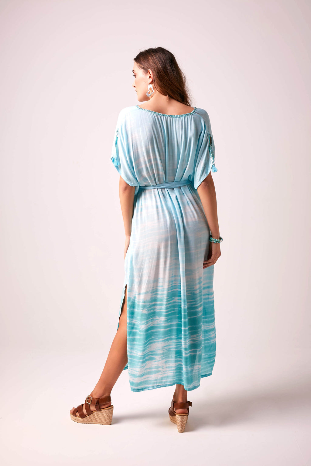 OCEAN - Oversized Tie-Dye Maxi Dress