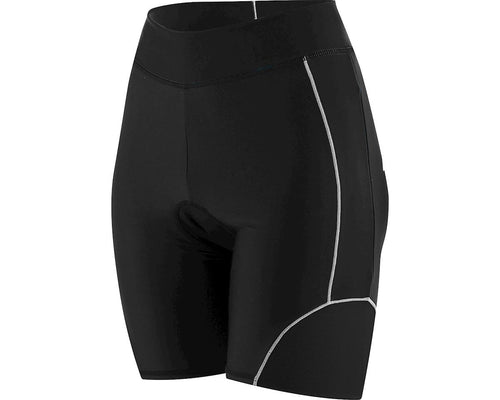Louis Garneau Large Women's Comp Shorts - Black