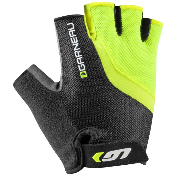Louis Garneau Men's Biogel RX-V Cycling Gloves - Bright Yellow