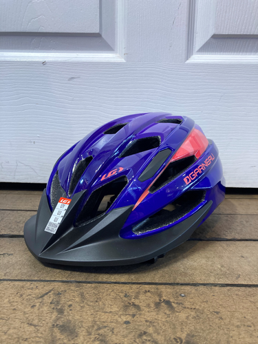 Louis Garneau Razz Universal Youth Helmet - Purple