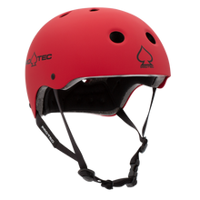 Load image into Gallery viewer, Pro-tec Classic Skate Matte Red Certified Helmet