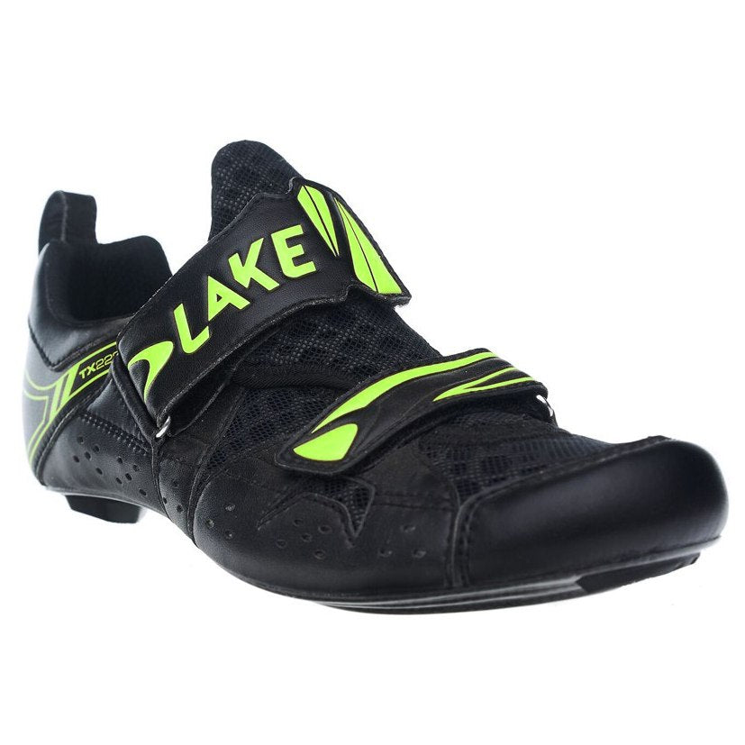Lake TX222-X Black/Yellow Cycling Shoes