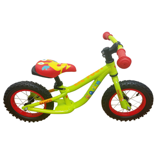 DAMCO Lil Foot Balance Kid's Complete Bicycle - Green - PICK UP ONLY