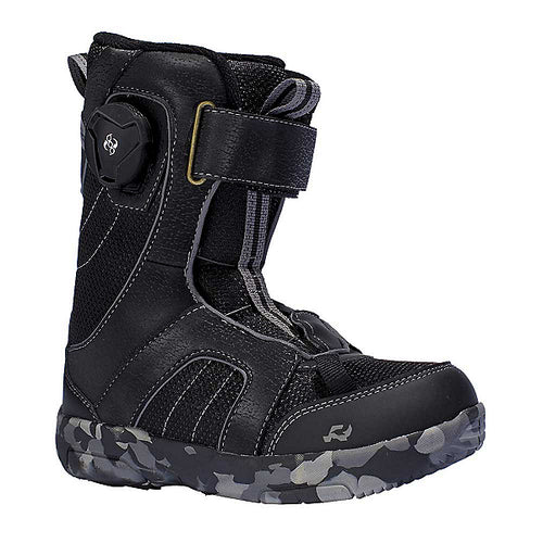 Ride Norris Kids Black Snowboard Boots
