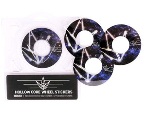 Envy Hollow Core 110mm Scooter Wheel Stickers - Galaxy Logo