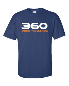 360 Tee - Blue/Traditional