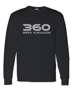 360 Long Sleeve Tee - Black