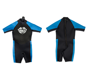 White Knuckle Kids Shorty Wetsuit - Boys