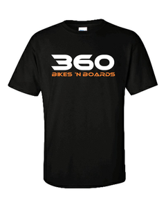 360 Tee - Black/Traditional