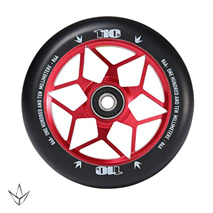Envy Diamond 110mm Scooter Wheel - Red