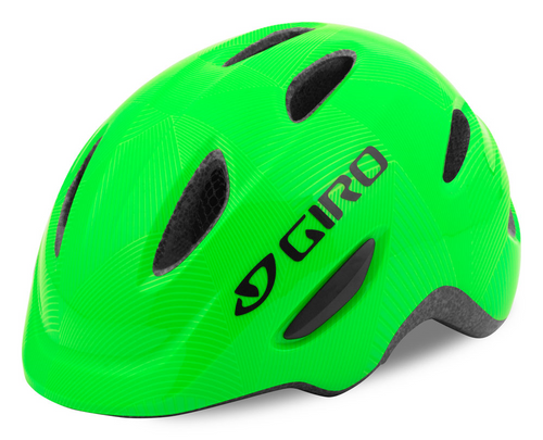 GIRO SCAMP Child's Helmet - Lime Green