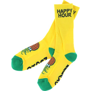 Happy Hour Socks - Yellow