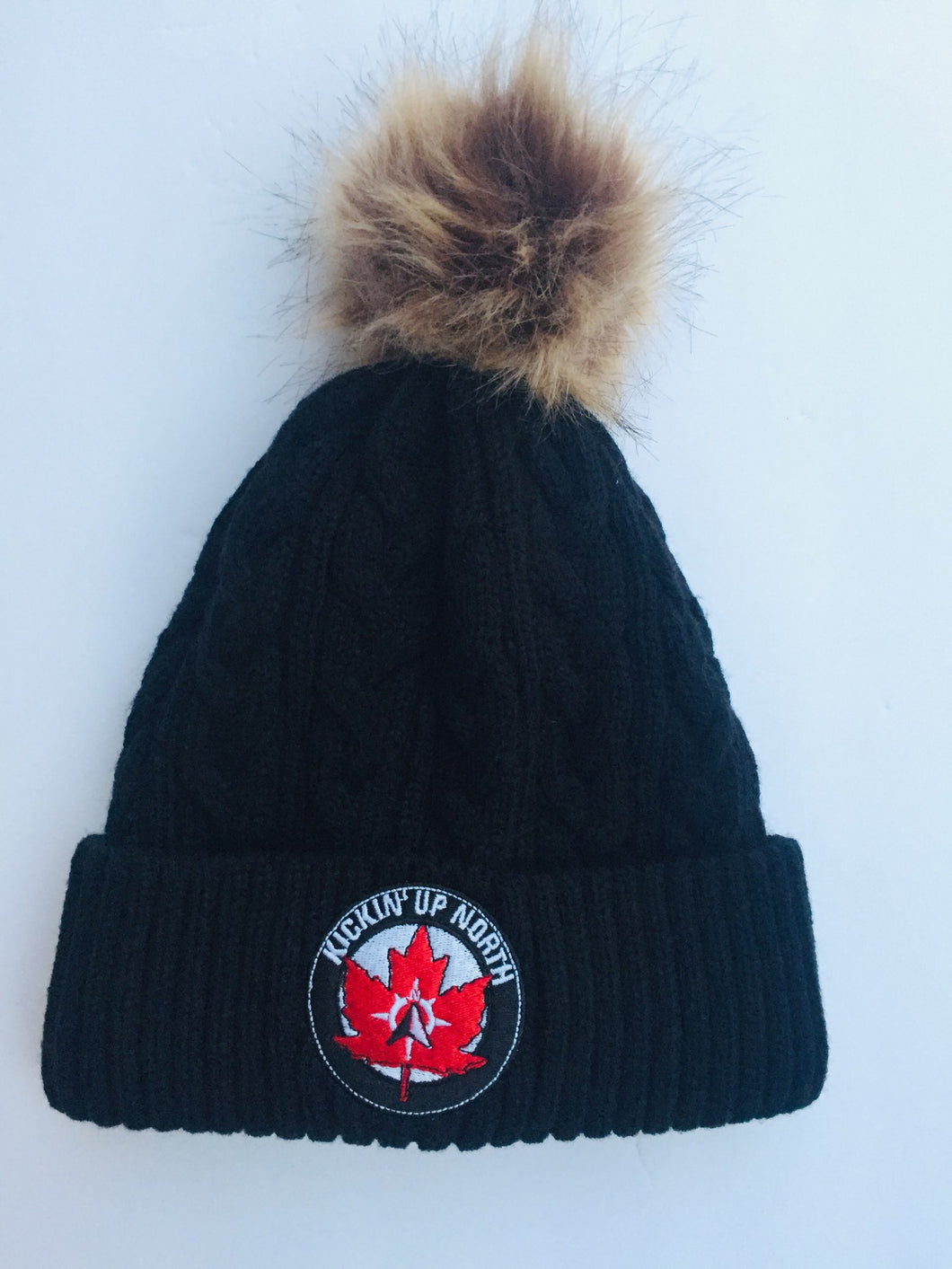 Kickin' Up North Pom Pom Winter Hat