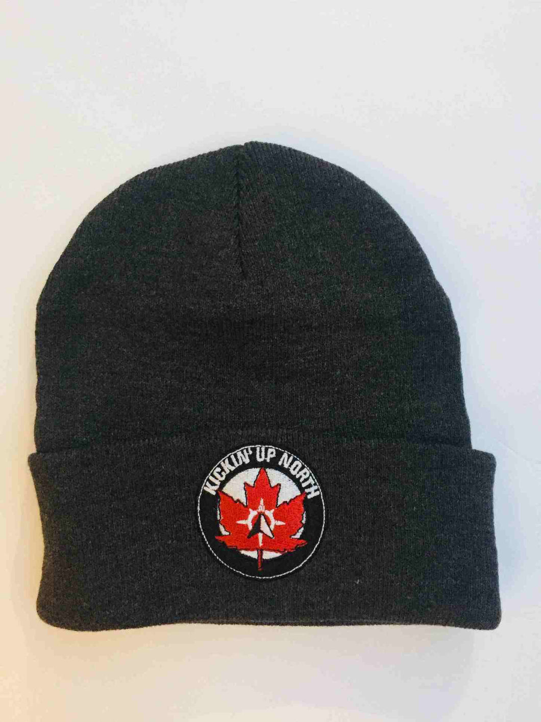 Kickin' Up North Winter Hat - Logo