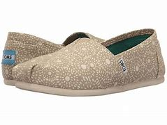 Toms Classic Women's Shoes - Oxford Tan Shibori Dots