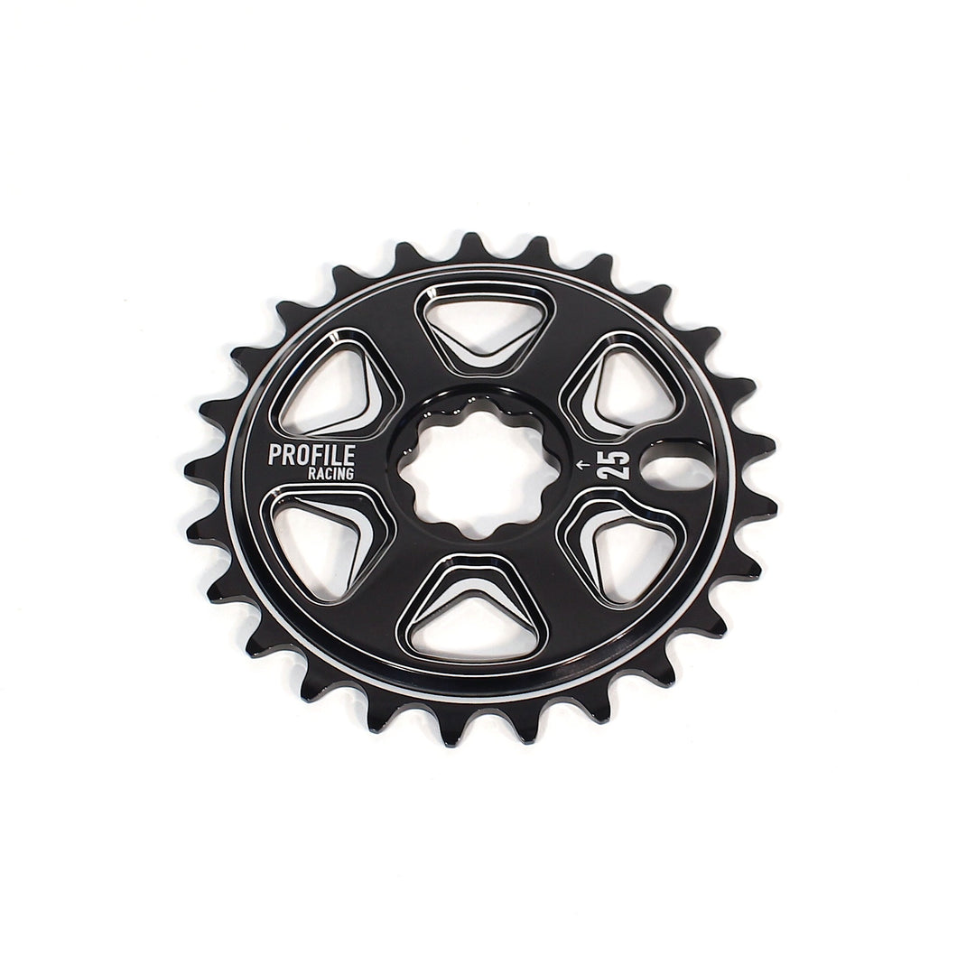 Profile Racing Universal Spline Drive Sabre BMX Sprocket - 25 Tooth