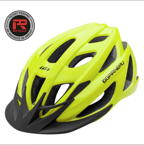 Garneau Le Tour II Adult Helmet - Yellow