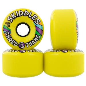 Sector 9 Skiddles Longboard Wheels - Yellow