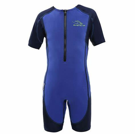 Stingray Neoprene Shorty Wetsuit - Blue