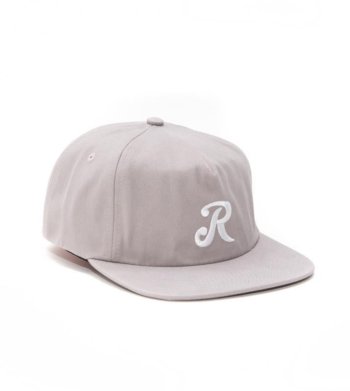 Royal Initial Snapback Hat - One Size Grey