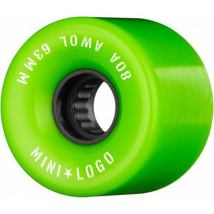 Mini Logo A.W.O.L Formula A-Cut 80A 63mm Skateboard Wheels