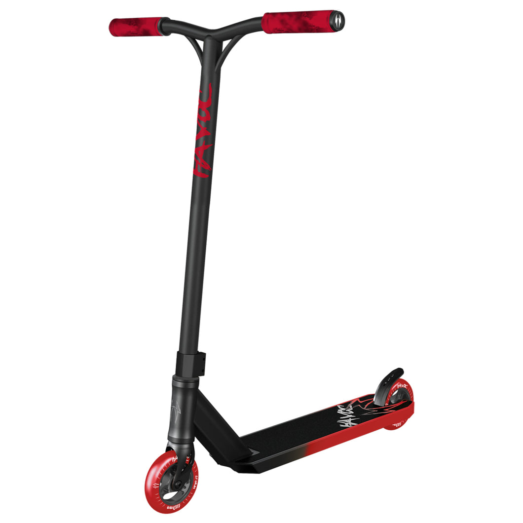 Havoc Storm Complete Scooter - Red and Black