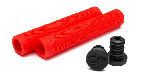 Cinema Focus Red BMX Grips