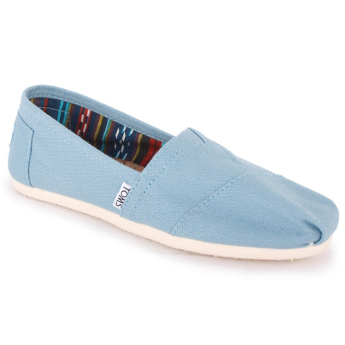 Toms Classic Women's Shoes - Light Blue