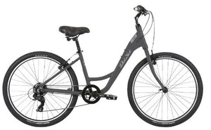 RESERVE - Del Sol Women's Lxi Flow 1 ST Complete Hybrid Bicycle - Charcoal