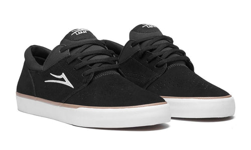 Lakai Fremont Vulc Black Suede Skate Shoes