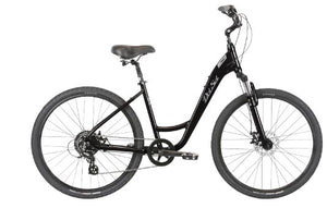 RESERVE - Del Sol Women's Lxi Flow 2 ST Complete Hybrid Bicycle - Black