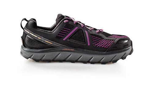 Altra Women's Lone Peak 3.5 Trail Running Shoe - Purple/Orange