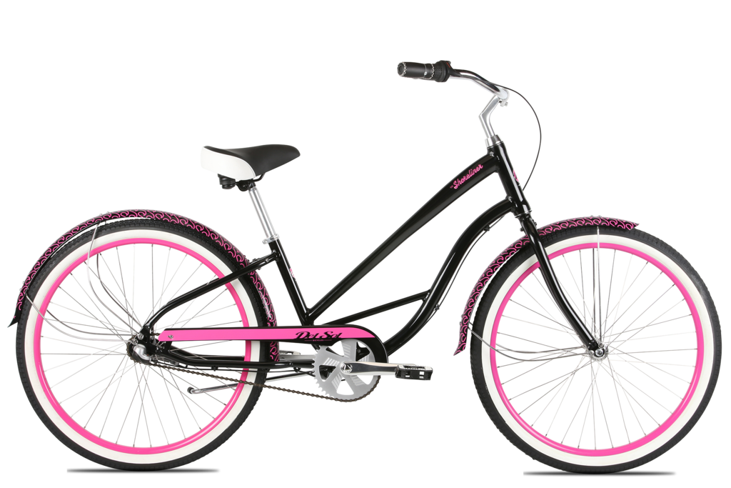 RESERVE - Del Sol Women's Shoreliner 3Speed - Black and Pink