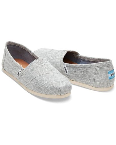 Toms Classic Women's Shoes - Drizzle Grey Metallic Woven