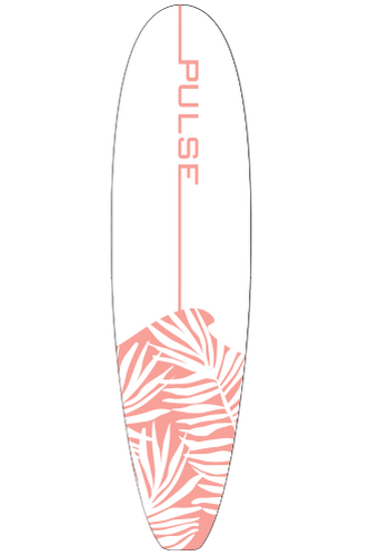 The Maui 7' Pink Pulse Surf Board