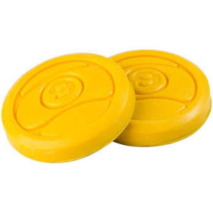 Sector 9 9 Ball Replacement Pucks, Yellow