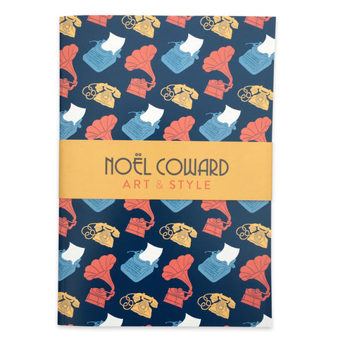 A5 lined notebook - Noël Coward miscellany