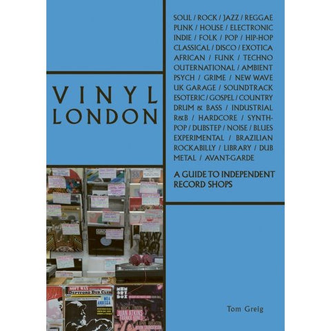Vinyl London book cover