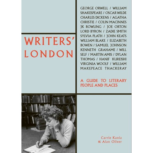 Writers' London book cover