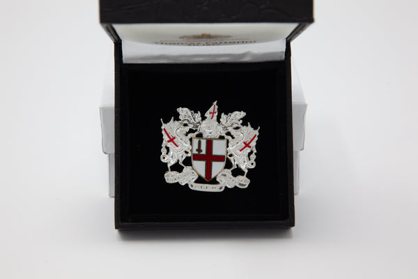 City of London Coat of Arms Ladies Brooch