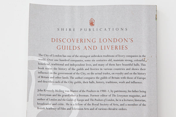 Discovering London's Guilds and Liveries
