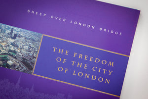 Sheep Over London Bridge - The Freedom of the City of London